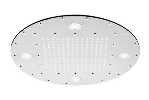 Shower head Corsan CMDO40CH LED chrome + LED