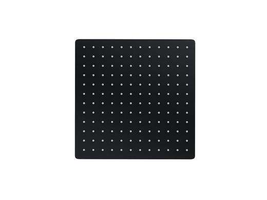 Deszczownica natryskowa Corsan CMD30BL SLIM czarna kwadratowa 30 cm