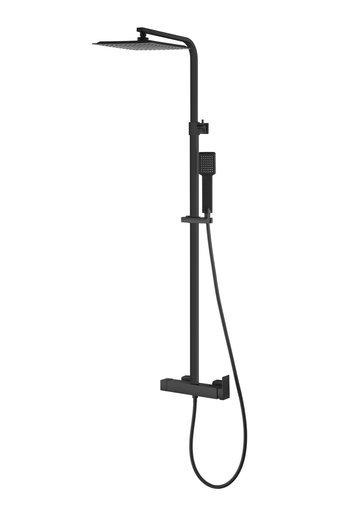 Natryskowa kolumna prysznicowa Corsan Ango CMN024 czarna