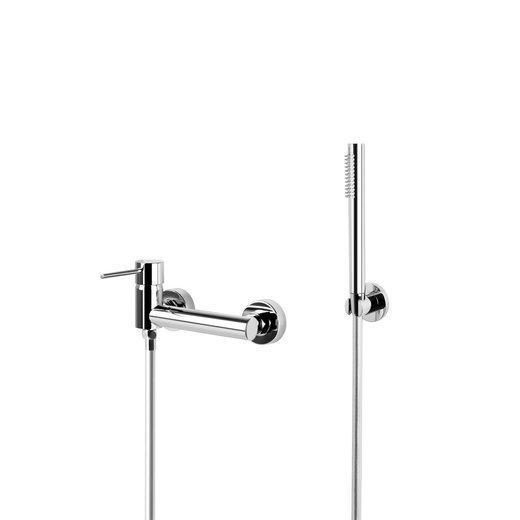Zestaw prysznicowy Corsan CMZ065CH Lugo chromowana bateria ze słuchawką prysznicową